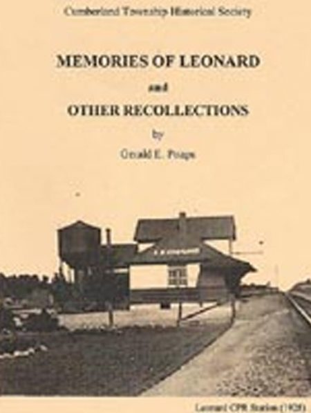 Memories of Leonard and other recollections